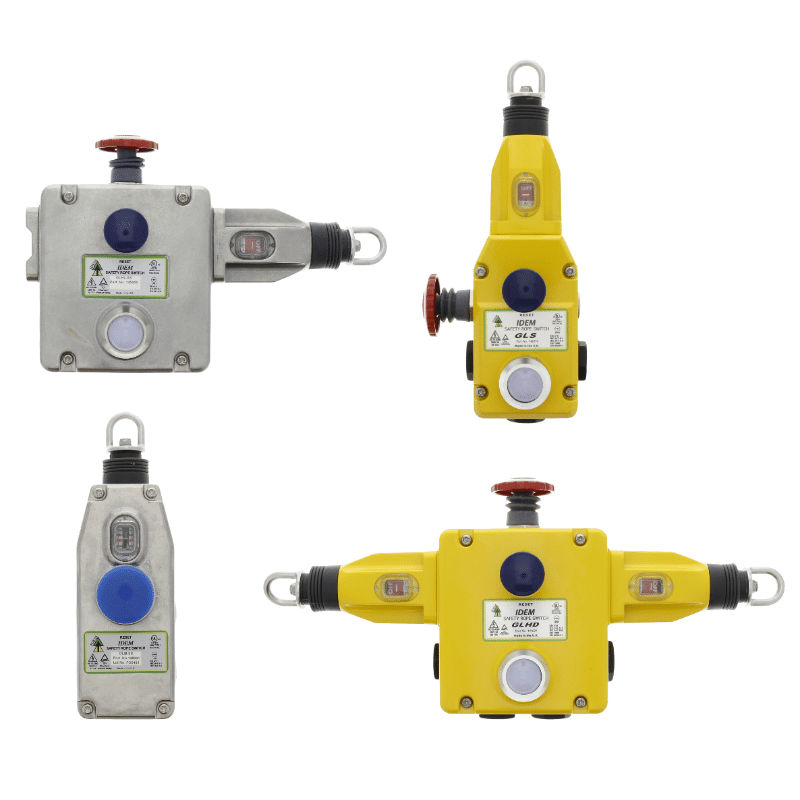 IDEM Safety Switches materiaalkeuze RVS die-cast kunststof Teleson Your Sensor & Safety Partner